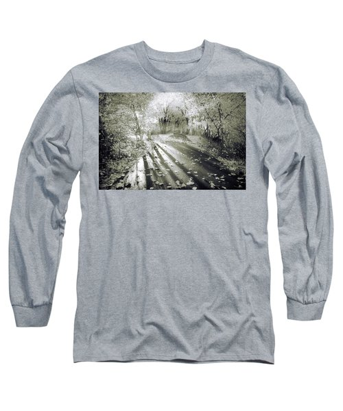 Long Sleeve T-Shirt featuring the photograph The Calm In Shadows And Light by Tara Turner