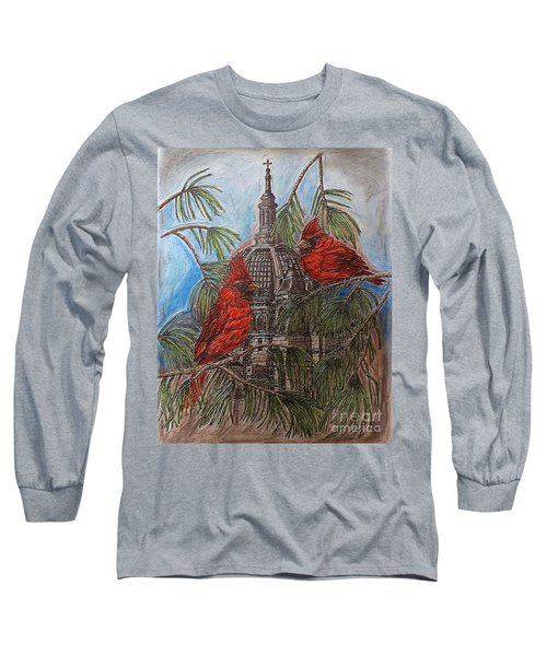 The Cardinals Visit St.pauls Cathedral Long Sleeve T-Shirt
