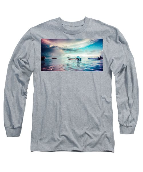 The Caribbean Morning Long Sleeve T-Shirt