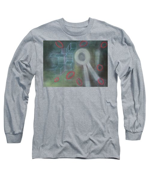 The Childish In One's Heart Long Sleeve T-Shirt by Min Zou