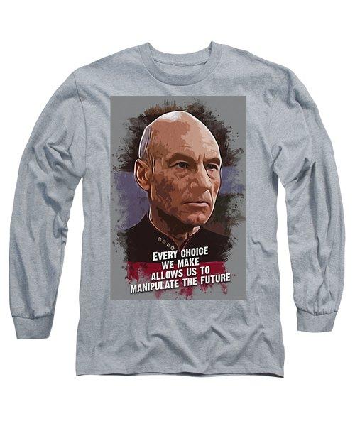 The Choice - Picard Long Sleeve T-Shirt