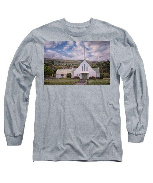 The Church Long Sleeve T-Shirt by Jim Thompson