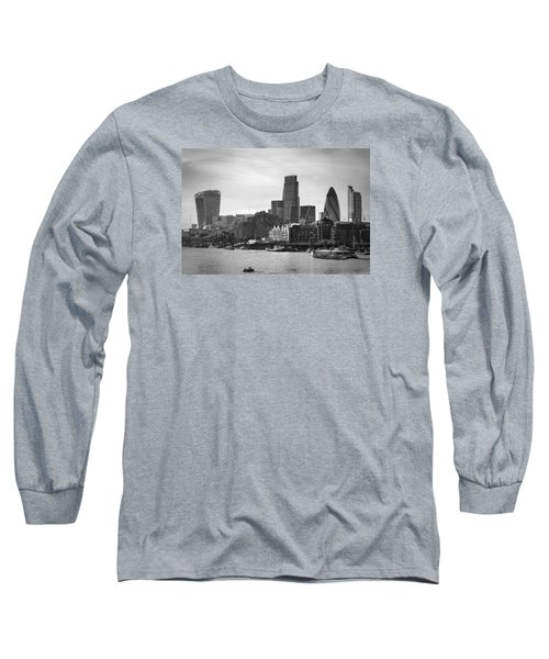 The City In Mono Long Sleeve T-Shirt