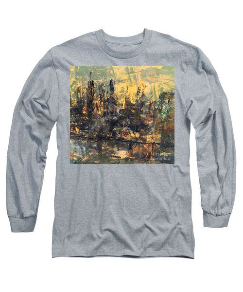 The City Long Sleeve T-Shirt by Nancy Kane Chapman