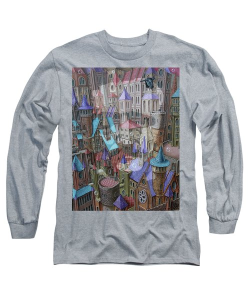 The City Of Crow Long Sleeve T-Shirt