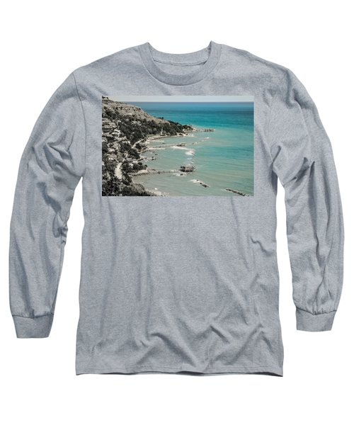 The City Of Waves Long Sleeve T-Shirt