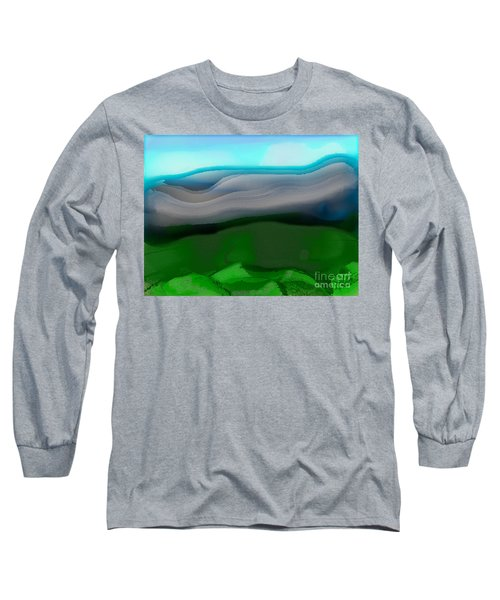The Hilltop View Long Sleeve T-Shirt
