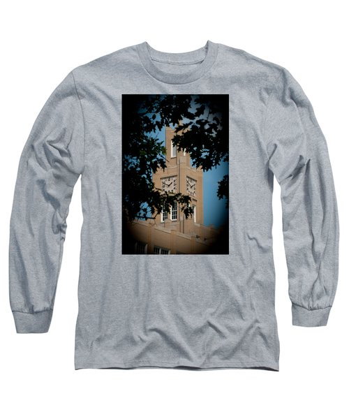 Long Sleeve T-Shirt featuring the photograph The Clock Tower by Mark Dodd