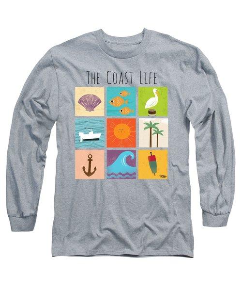 The Coast Life Long Sleeve T-Shirt