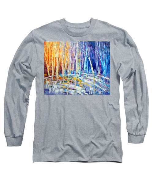 The Color Of Snow Long Sleeve T-Shirt