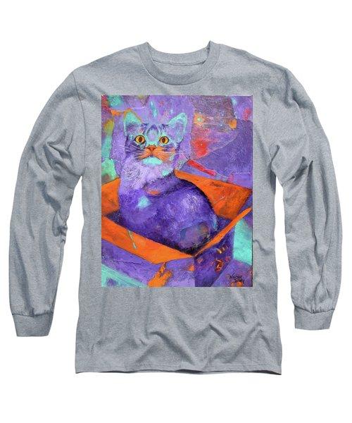 The Color Purrrple Long Sleeve T-Shirt