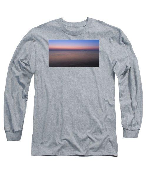 Dawn At The Mediterranean Sea Long Sleeve T-Shirt