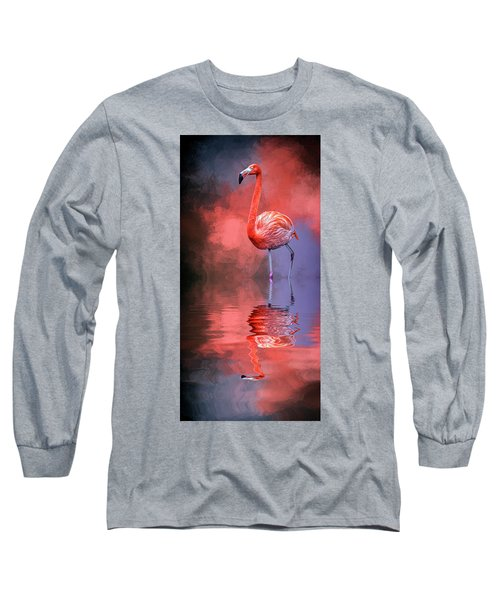 The Colors Of My World Long Sleeve T-Shirt by Cyndy Doty