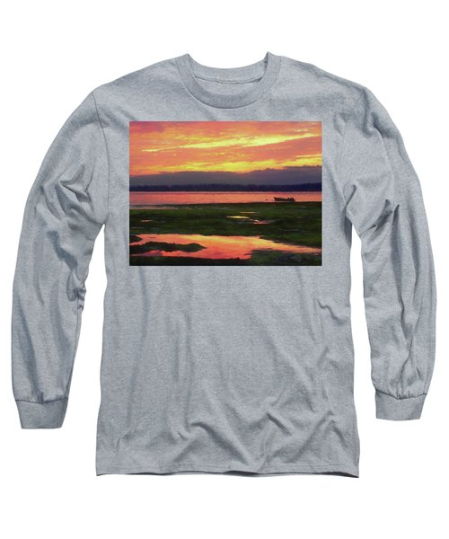 The Colors Of Ship Creek Long Sleeve T-Shirt