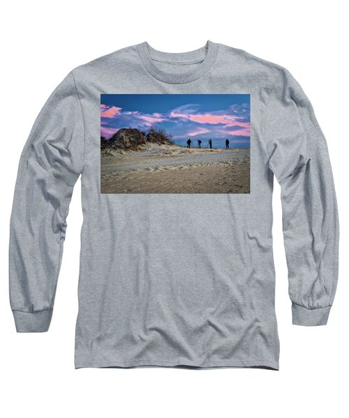 The Colors Of Sunset Long Sleeve T-Shirt