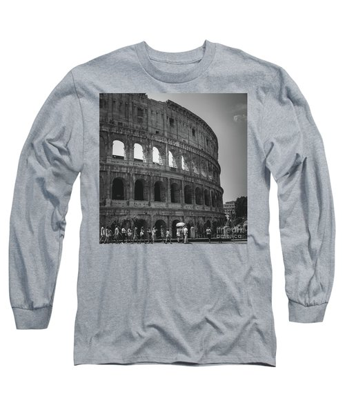 The Colosseum, Rome Italy Long Sleeve T-Shirt