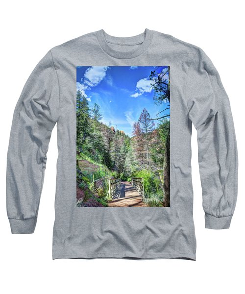 Long Sleeve T-Shirt featuring the photograph The Connection by Deborah Klubertanz
