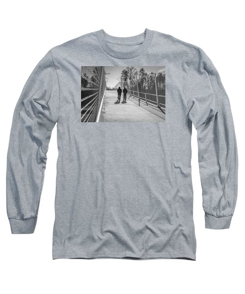 Long Sleeve T-Shirt featuring the photograph The Conversation by Wade Brooks