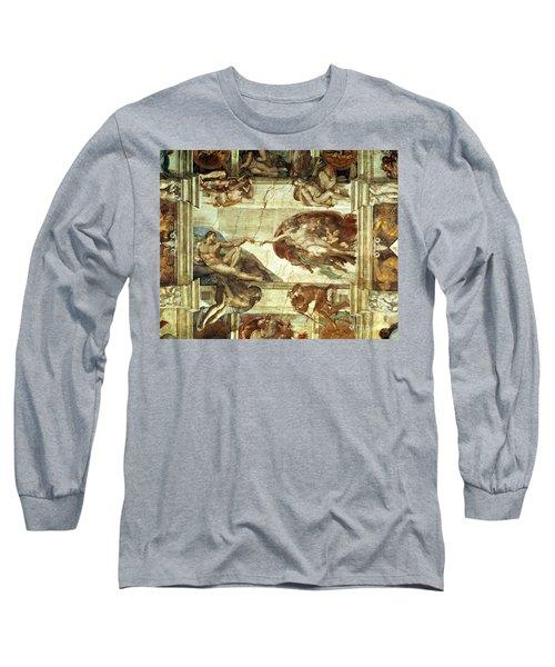 The Creation Of Adam Long Sleeve T-Shirt
