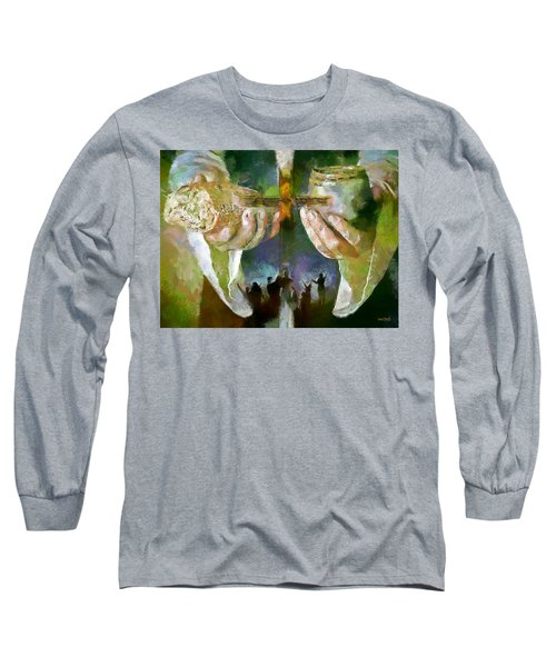 The Cross And The Feast Long Sleeve T-Shirt