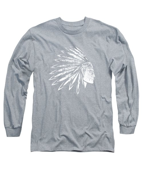 The Crying American Indian Long Sleeve T-Shirt
