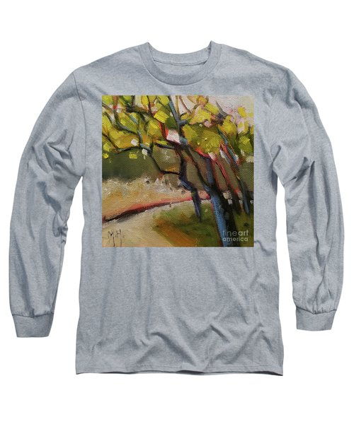 The Dance Abstract Tree Woods Forest Wild Nature Long Sleeve T-Shirt