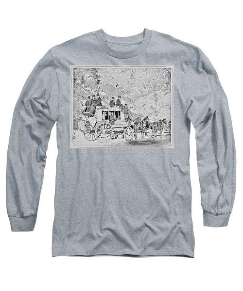 The Deadwood Coach Long Sleeve T-Shirt