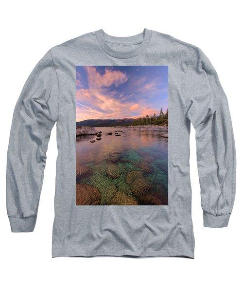 The Depths Of Sundown Long Sleeve T-Shirt