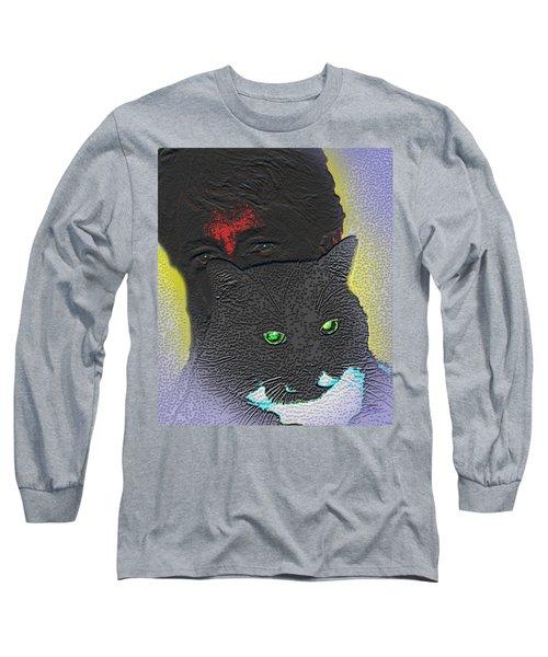 The Devils Mask Long Sleeve T-Shirt