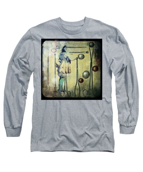 Long Sleeve T-Shirt featuring the digital art The Doctor Will See You Now by Delight Worthyn