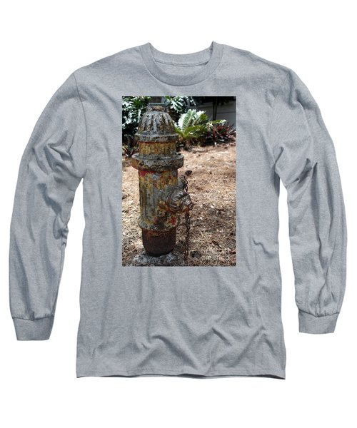 The Doggy Did It Long Sleeve T-Shirt by Irma BACKELANT GALLERIES