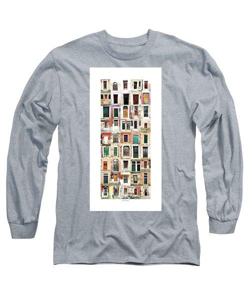 The Doors Of Murano Italy Long Sleeve T-Shirt