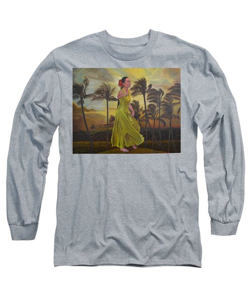 The Green Dress Long Sleeve T-Shirt