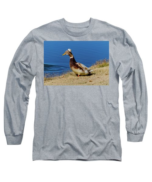 The Duck With The Pillbox Hat Long Sleeve T-Shirt