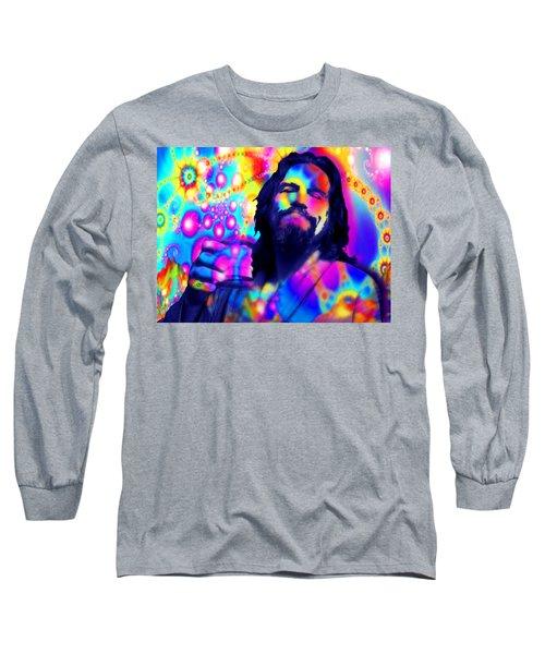 The Dude The Big Lebowski Jeff Bridges Long Sleeve T-Shirt