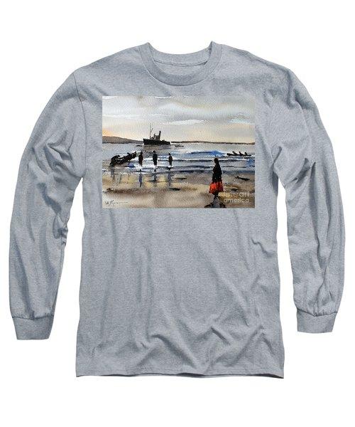 The Dun Aengus Off Aran, Galway Long Sleeve T-Shirt