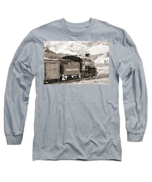 The Durango And Silverton Into The Mountains Long Sleeve T-Shirt