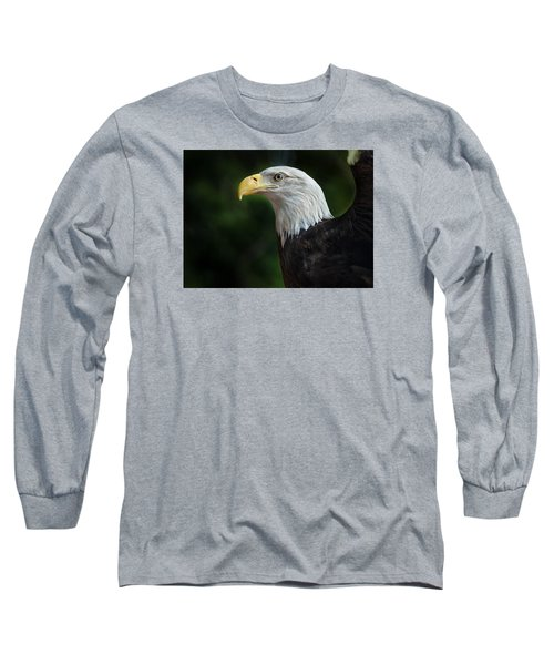 The Eagle Long Sleeve T-Shirt by Greg Nyquist