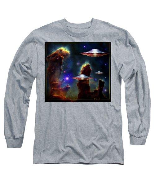 The  Eagle  Nebula  Long Sleeve T-Shirt