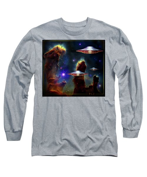 The  Eagle  Nebula  Long Sleeve T-Shirt