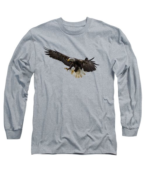 The Eagle Long Sleeve T-Shirt by Scott Carruthers