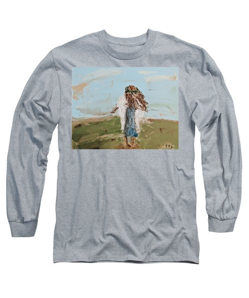 The Edge Of The Field Long Sleeve T-Shirt