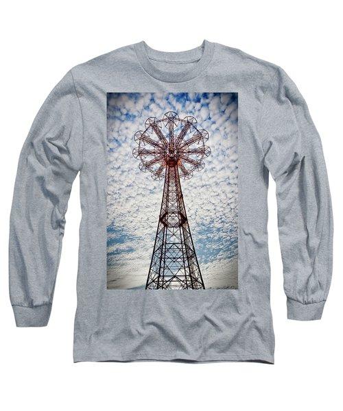 The Eiffel Tower Of Brooklyn #3 Long Sleeve T-Shirt