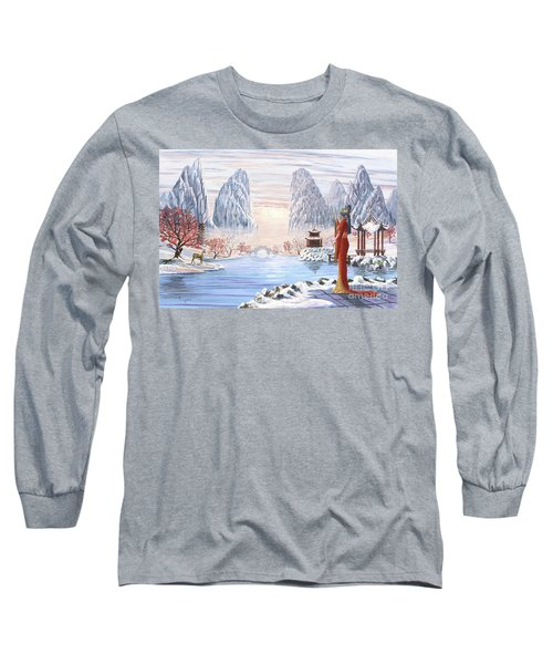The Empress And The Unicorn Long Sleeve T-Shirt