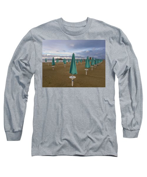 The End Of The Season In Rimini Long Sleeve T-Shirt