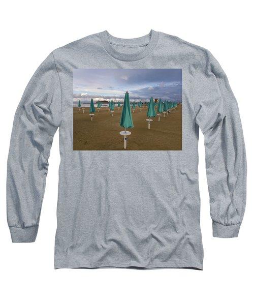 The End Of The Season In Rimini Long Sleeve T-Shirt