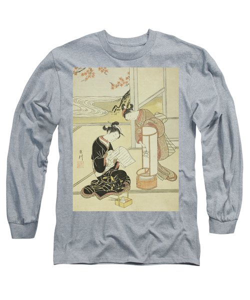 The Evening Glow Of A Lamp Long Sleeve T-Shirt