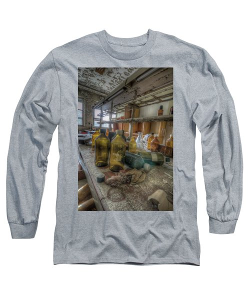 The Experiment  Long Sleeve T-Shirt by Nathan Wright