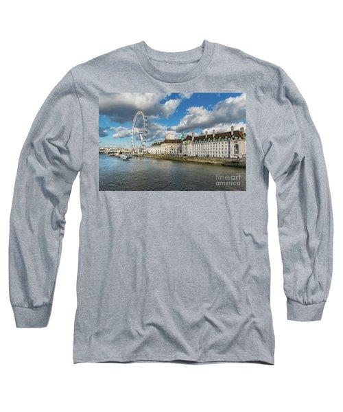 The Eye London Long Sleeve T-Shirt by Adrian Evans