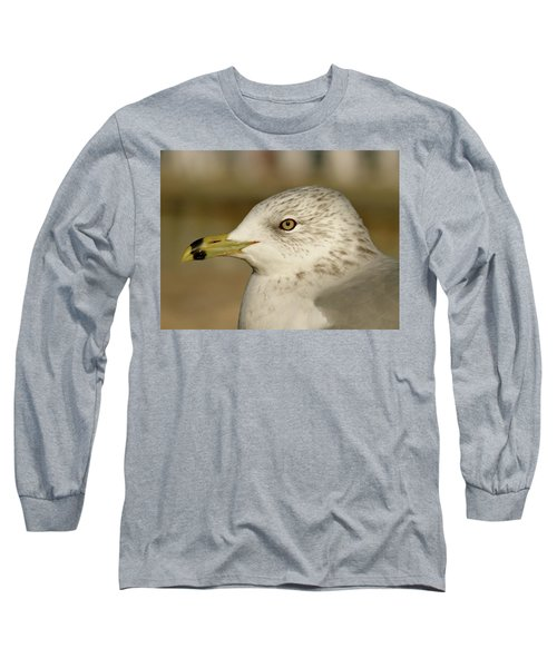The Eye Of The Seagull Long Sleeve T-Shirt